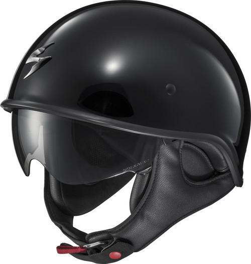 Scorpion EXO-C90 Solid Black Helmet