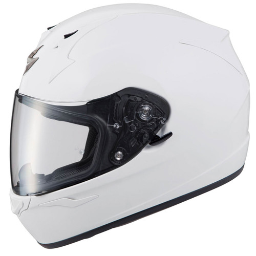 Scorpion EXO-R320 Solid White Helmet