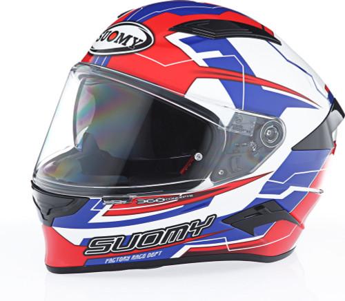 Suomy Speedstar Camshaft Blue White Helmet