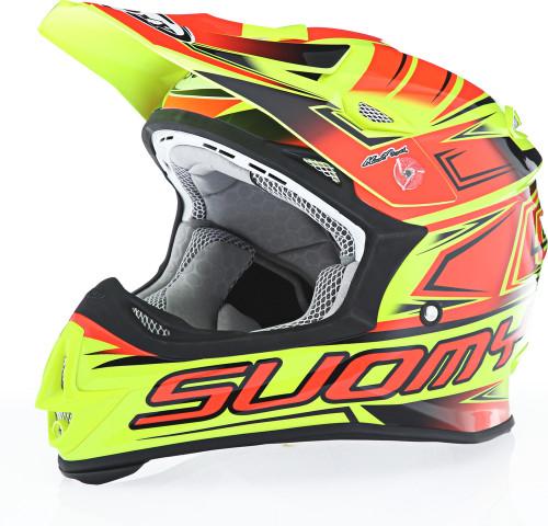 Suomy MX Jump Start Yellow Red Helmet