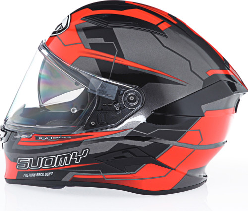 Suomy Speedstar Camshaft Orange Grey Helmet