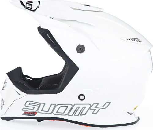 Suomy MX Speed Gloss White Helmet