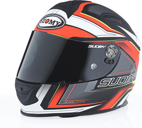Suomy SR Sport Engine Matte Red Helmet