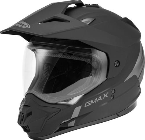 Gmax GM-11 Dual-Sport Scud Helmet Matte Black