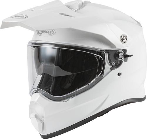 Gmax AT-21 Adventure Helmet White