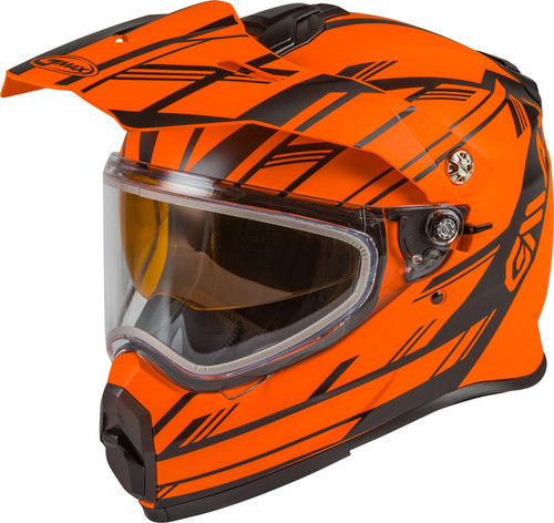 Gmax AT-21S Adventure Epic Snow Helmet Matte Orange