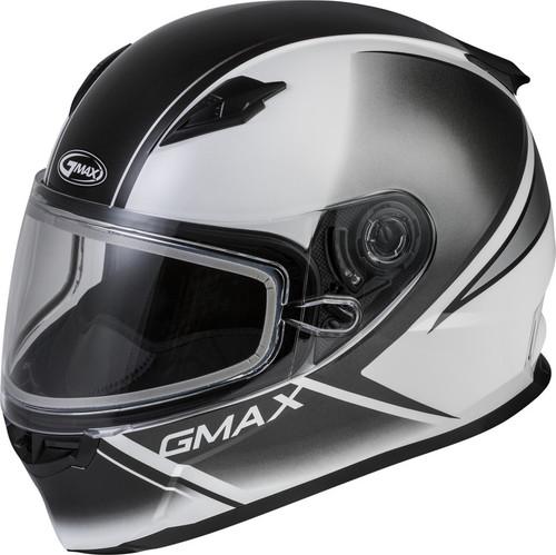 Gmax FF-49S Full-Face Hail Snow Helmet White