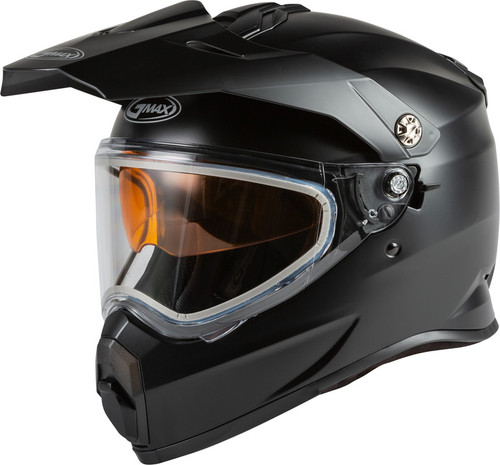 Gmax Youth AT-21S Adventure Snow Helmet Matte Black