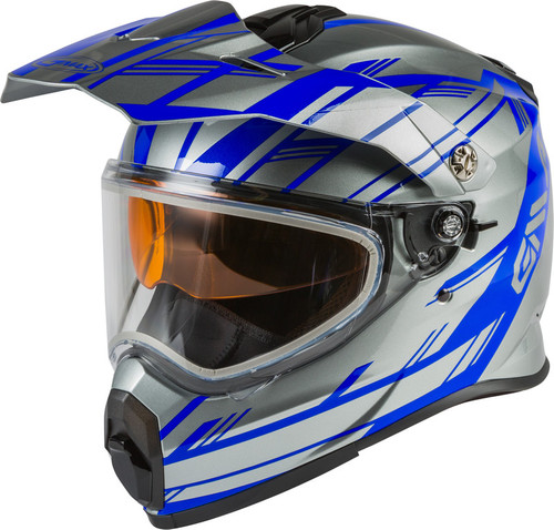 Gmax AT-21S Adventure Epic Snow Helmet Blue