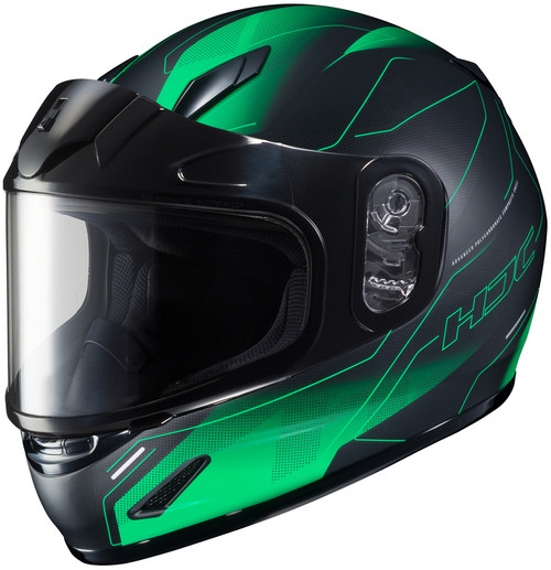 HJC CL-Y Taze Snow Green Helmet