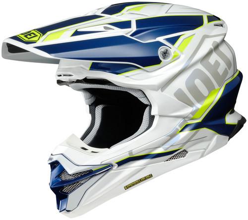 Shoei VFX-EVO ALLEGIANT TC-3 Yellow Helmet