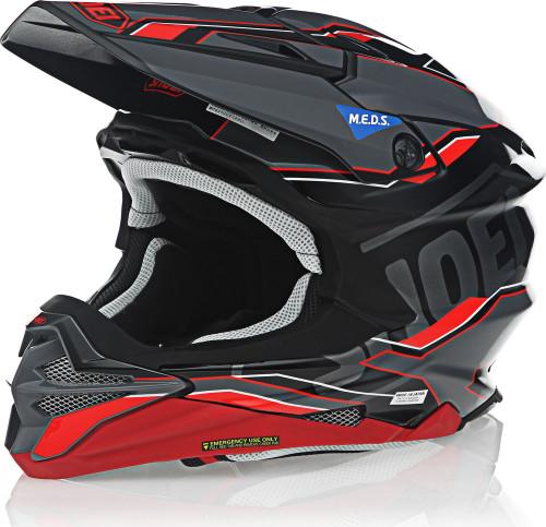 Shoei VFX-EVO ALLEGIANT TC-1 Red Helmet