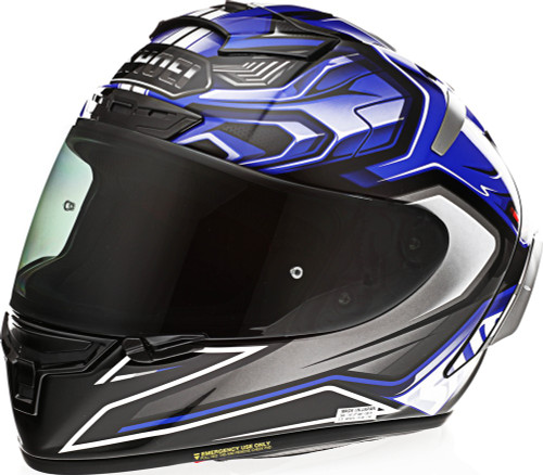 Shoei X-14 AERODYNE TC-2 Blue Helmet