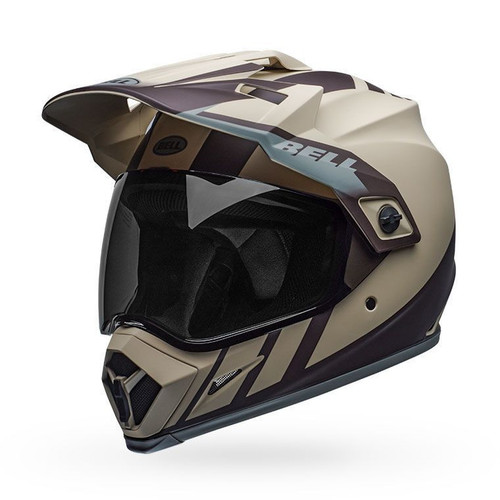 Bell MX-9 Adventure MIPS Helmet Dash Matte Sand/Brown/Gray