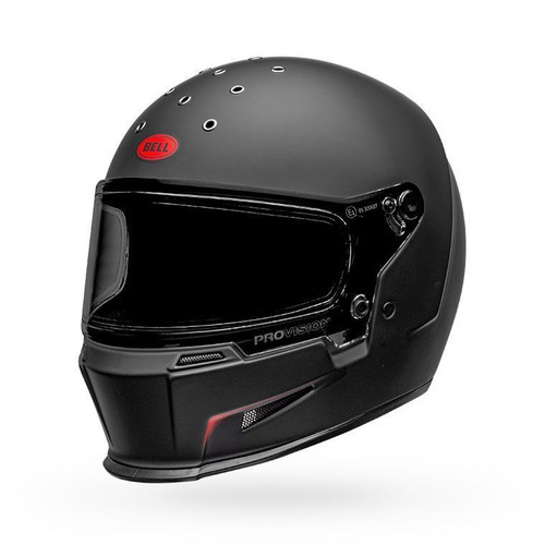 Bell Eliminator Helmet Vanish Matte Black/Red