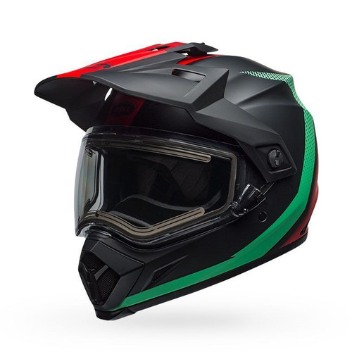 Bell MX-9 Adv Snow Electric Helmet Switchback Matte Blue/Red Black