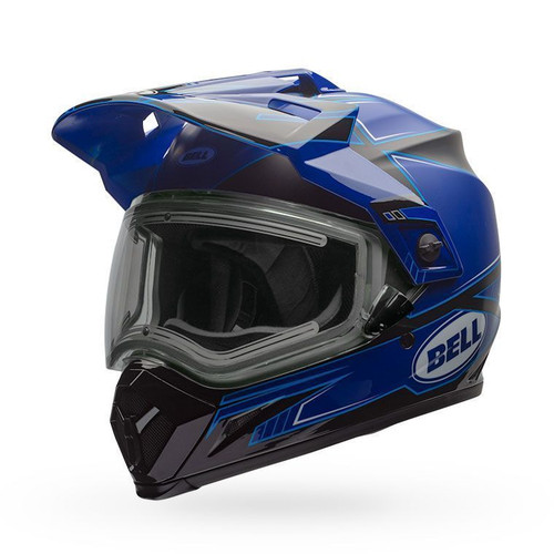 Bell MX-9 Adventure Snow Electric Helmet Matte/Gloss Blue