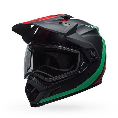 Bell MX-9 Adv Snow Dual Helmet Switchback Matte Blue/Red Black