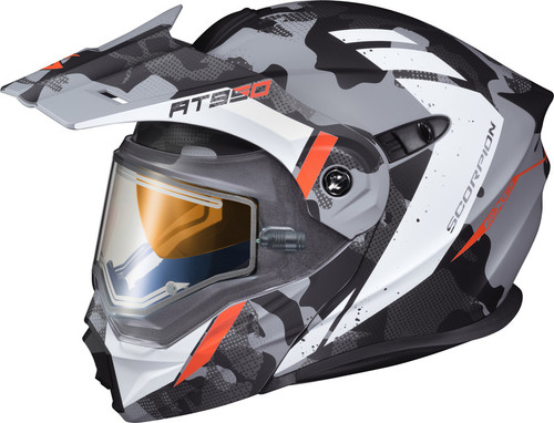Scorpion EXO-AT950 Outrigger Helmet w/Electric Shield Grey