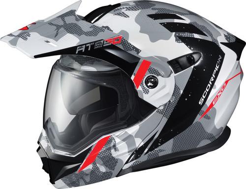 Scorpion EXO-AT950 Outrigger Helmet Grey White