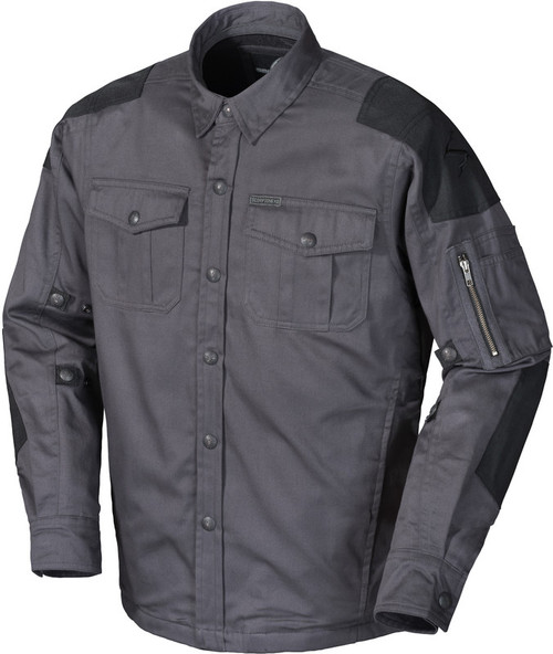 Scorpion Abrams Riding Shirt Grey Jacket