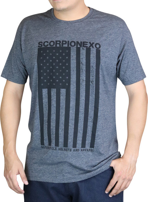 Scorpion Americana Shirt Black