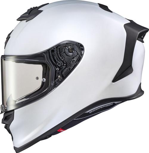 Scorpion EXO-R1 Solid Air Helmet Matte White