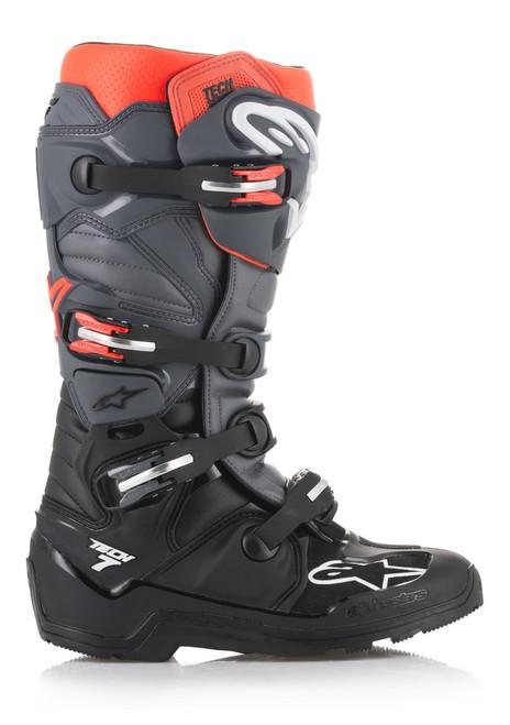 Alpinestars Tech 7 ENDURO BLACK/GREY/RED Boots