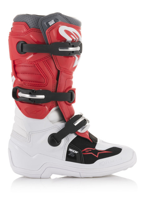Alpinestars YOUTH Tech 7S WHITE/RED/GREY Boots