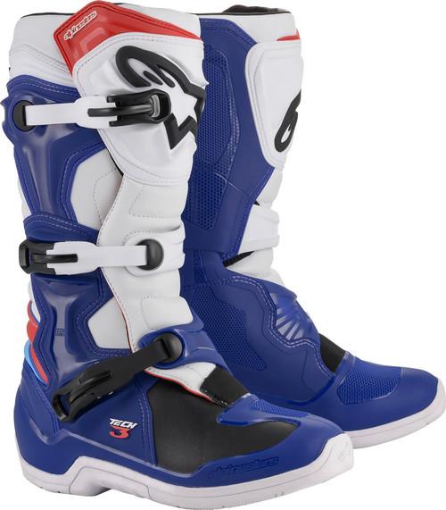 Alpinestars Tech 3 BLUE/WHITE/RED Boots