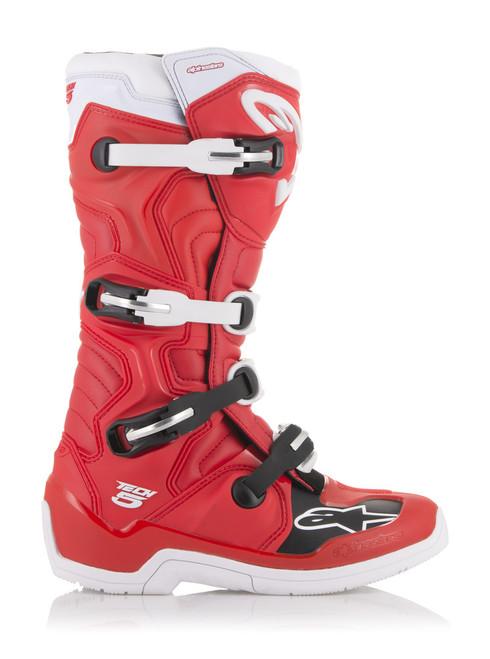 Alpinestars Tech 5 RED/WHITE Boots
