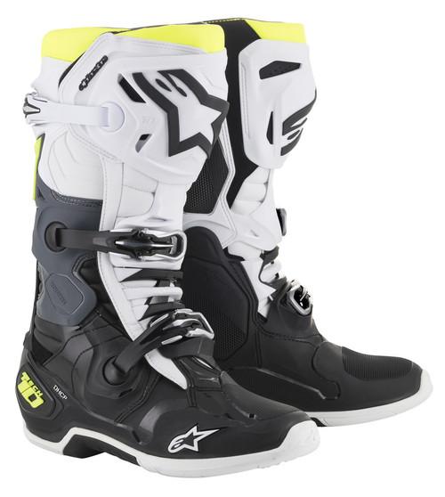 Alpinestars Tech 10 BLACK/WHITE/YELLOW Boots