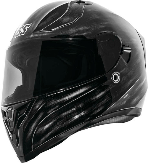 Speed and Strength SS2100 Solid Helmet Grunged Black