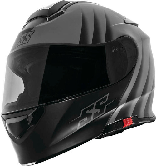 Speed and Strength SS4100 Spikes Helmet Grey
