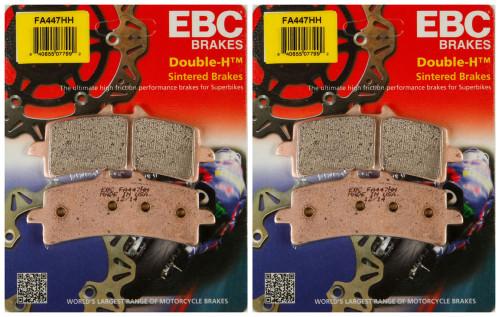EBC Double-H Sintered Metal Brake Pads FA447HH (2 Packs - Enough for 2 Rotors)