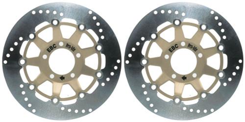 EBC Street Brake Disc Rotors MD603LS (2 Rotors - Bundle)