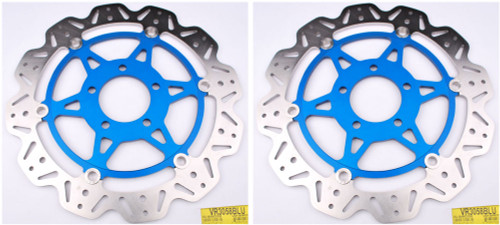 EBC VEE Disc Rotors Front VR3058BLU (2 Rotors - Bundle)