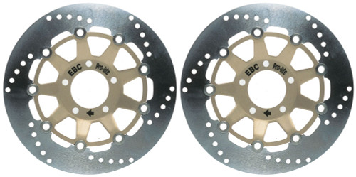 EBC Street Brake Disc Rotors MD606LS (2 Rotors - Bundle)