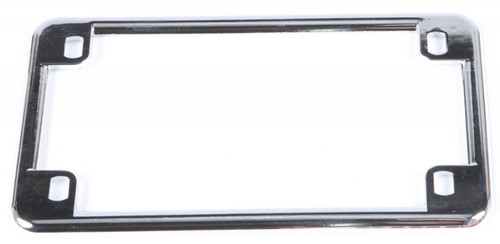 CHRIS PRODUCTS LICENSE PLATE FRAME (CHROME) (0600)
