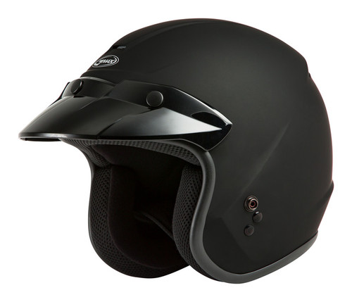 Gmax OF-2 Open-Face Helmet Matte Black