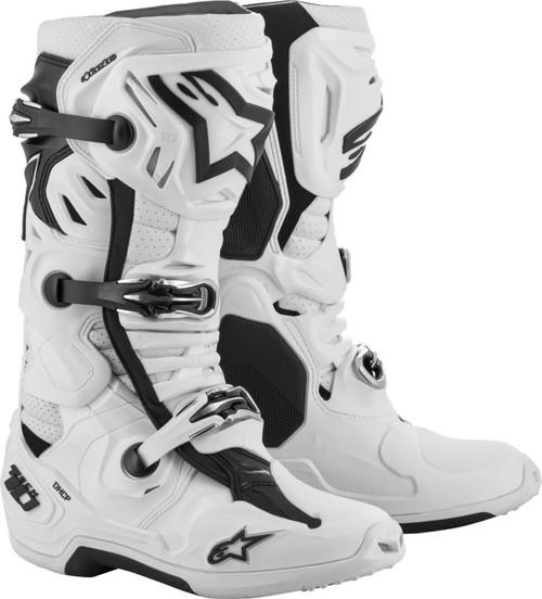 Alpinestars Tech 10 Supervented Boots White
