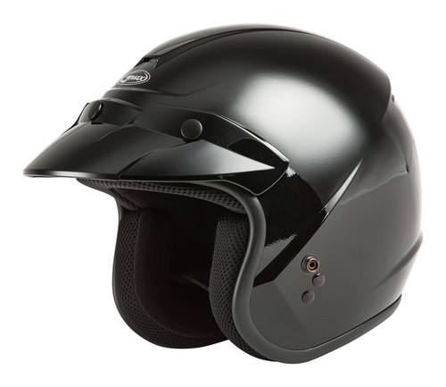 Gmax Youth OF-2Y Open-Face Helmet Black