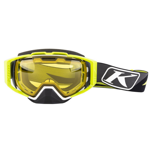 Klim Oculus Goggle Dissent Green Photochromic Yellow to Smoke