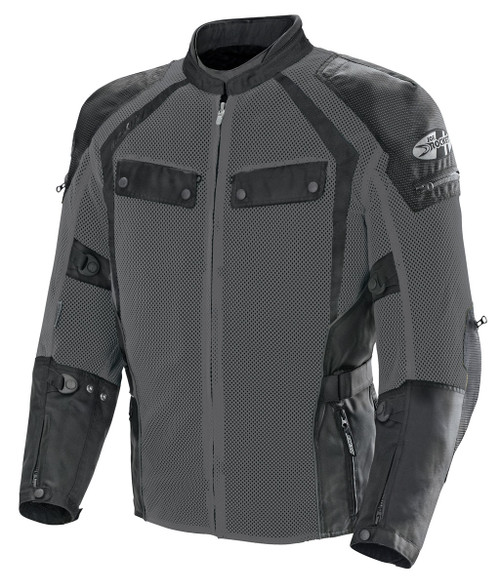 Joe Rocket Phoenix Ion Summit Jacket Black Gun Metal