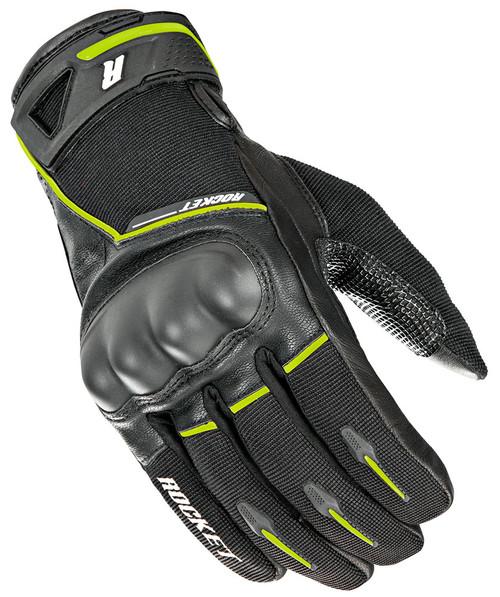 Joe Rocket Super Moto Gloves Black / Hi-Viz Mens