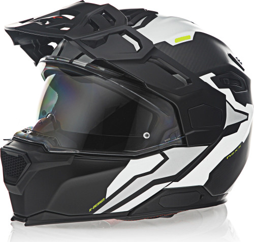 Nexx X-Vilijord Light Nomad Carbon White Grey Helmet
