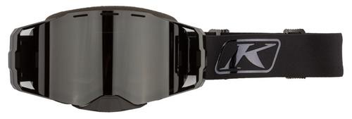 Klim Edge Black Chrome-Smoke Polarized Focus Goggle