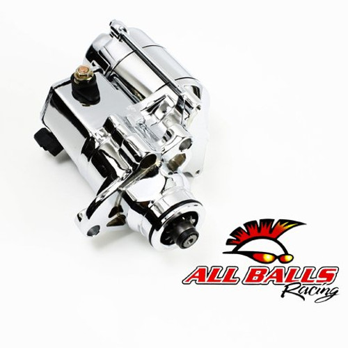ALL BALLS BIG TWIN STARTER 1.4KW CHROME 6SPD TRANS (80-1014)