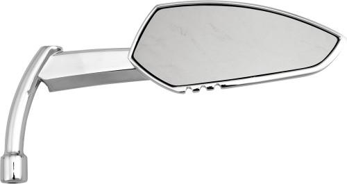 HARDDRIVE APACHE MIRROR W/KNIFE STEM CHROME RIGHT (M60-6343CR)