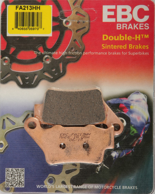 EBC Double-H Sintered Metal Brake Pads FA213HH